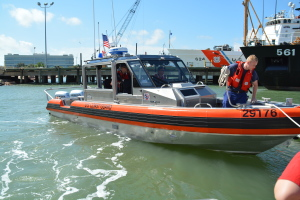 Coast Guard headed out to answer a call