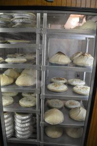 Meringue pies at the Bluebonnet Cafe
